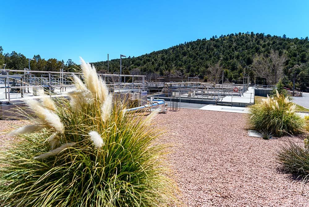 Green Valley Water's water treatment facility process trains
